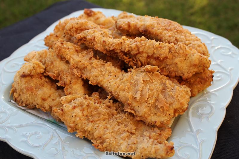 Crunchy Chicken Fingers : Food Recipes