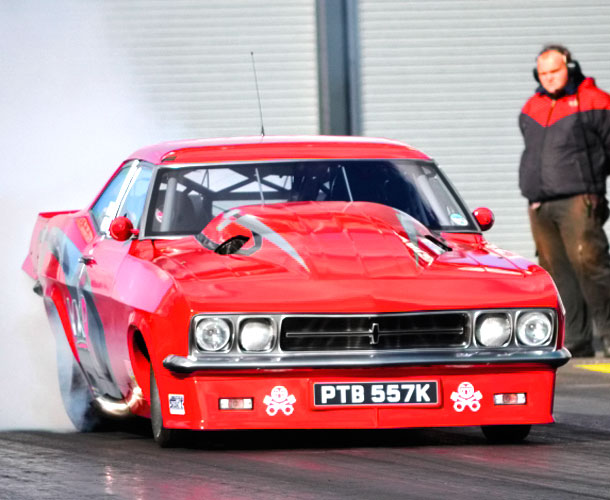 Worlds Fastest Street Legal Car  Vauxhall Victor