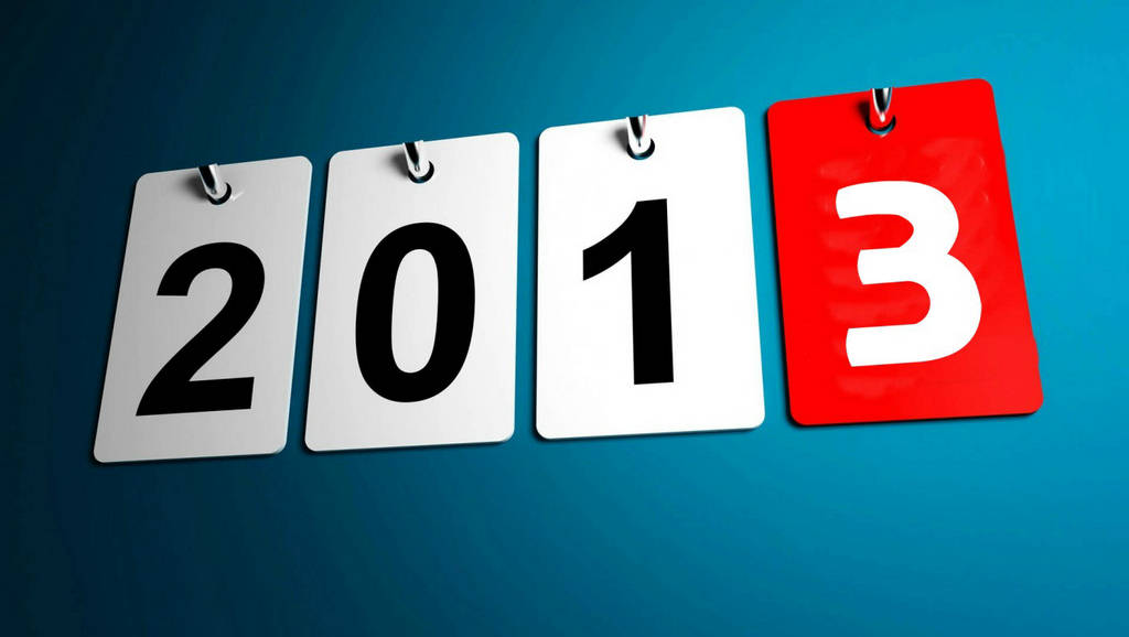 Happy New Year 2013  Greeting Wallpapers