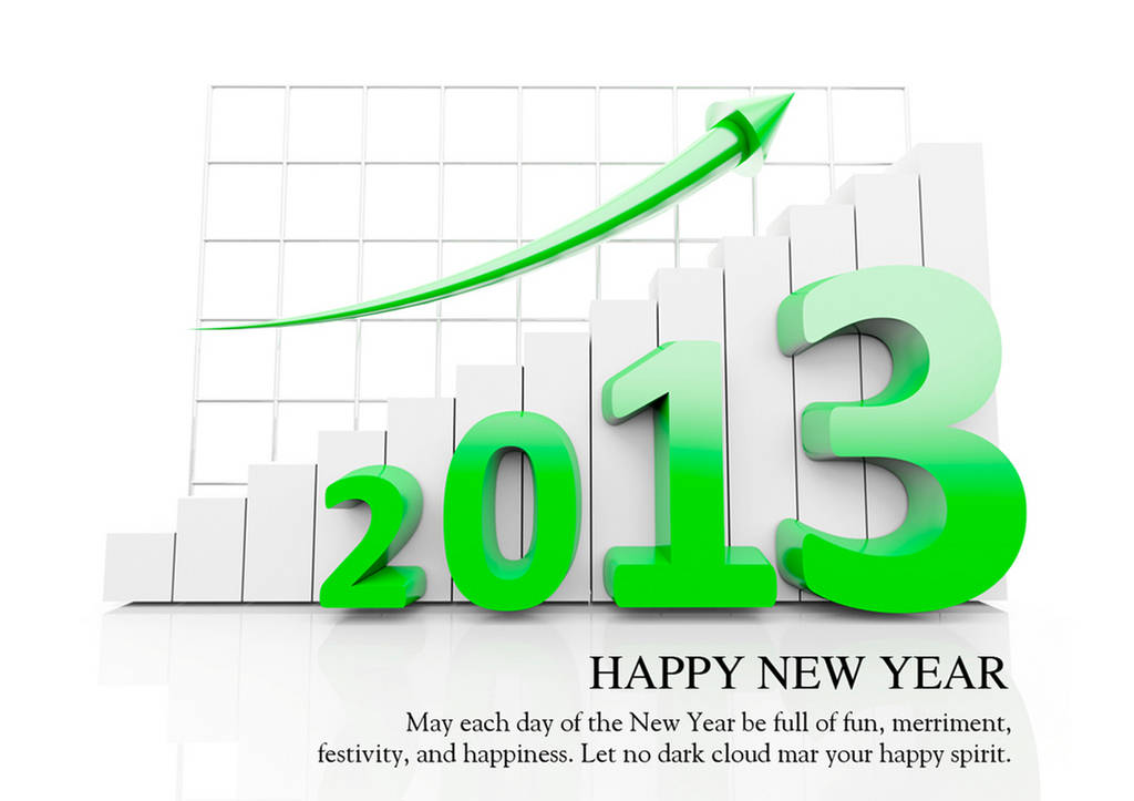 Wishing You All Happy New Year 2013