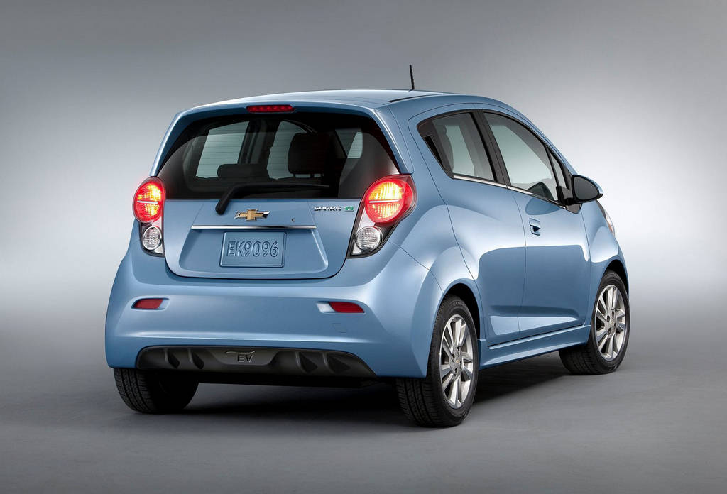 Chevrolet Spark EV 2014  Car Wallpapers