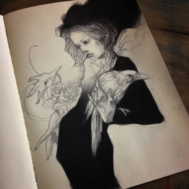 Amazing Sketchbook Drawings