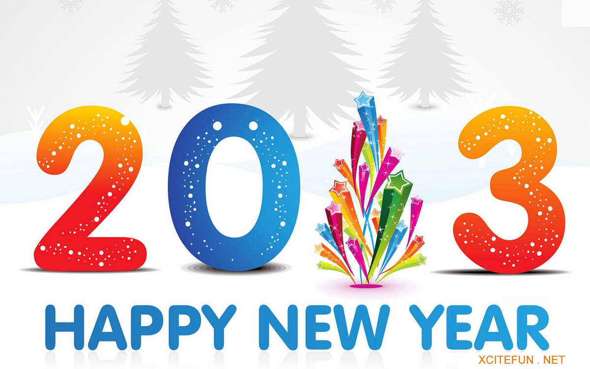 Happy New Year Wallpapers 2013  New Greeting Cards