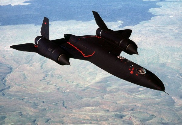 World Fastest Airplane  Lockheed SR 71 Blackbird