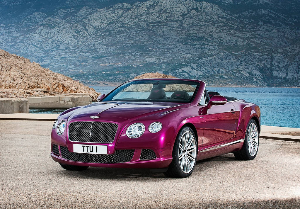 Bentley Continental GT Speed 2014 Car Wallpapers