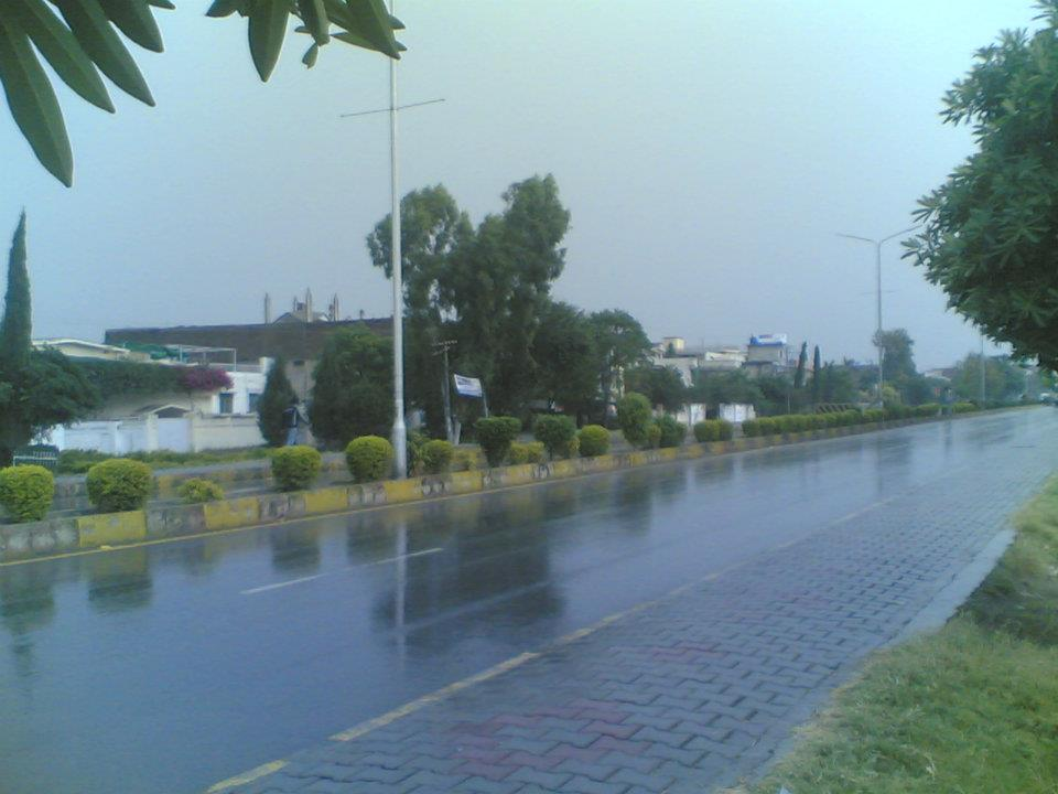 December in Wah Cantt