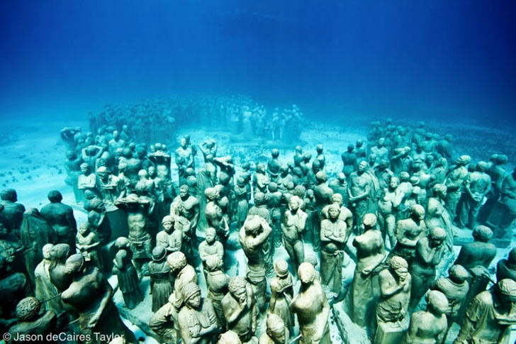 Underwater Living Sculptures