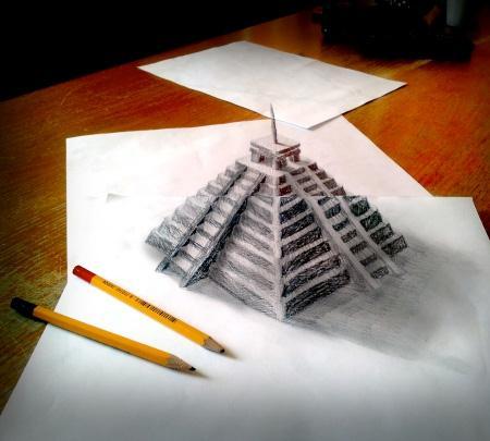 3d Creative Illusion Creative Pencil Drawings Xcitefun Net