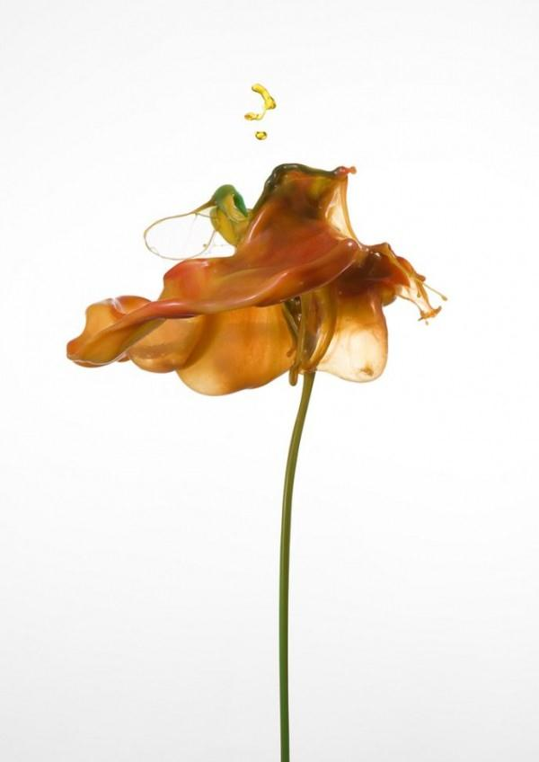 Liquid Flower Awesome High Speed Photography