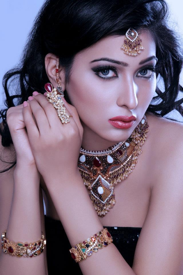 Kundan Bridal Wear Jewelry Set By Sunar Xcitefun Net