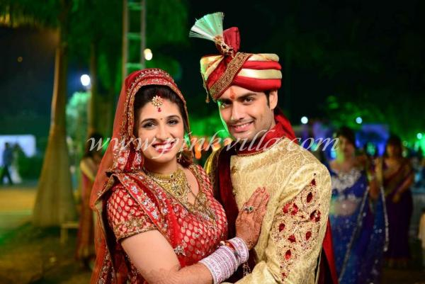 Vivian Dsena and Vahbiz Dorabjee Wedding Pictures