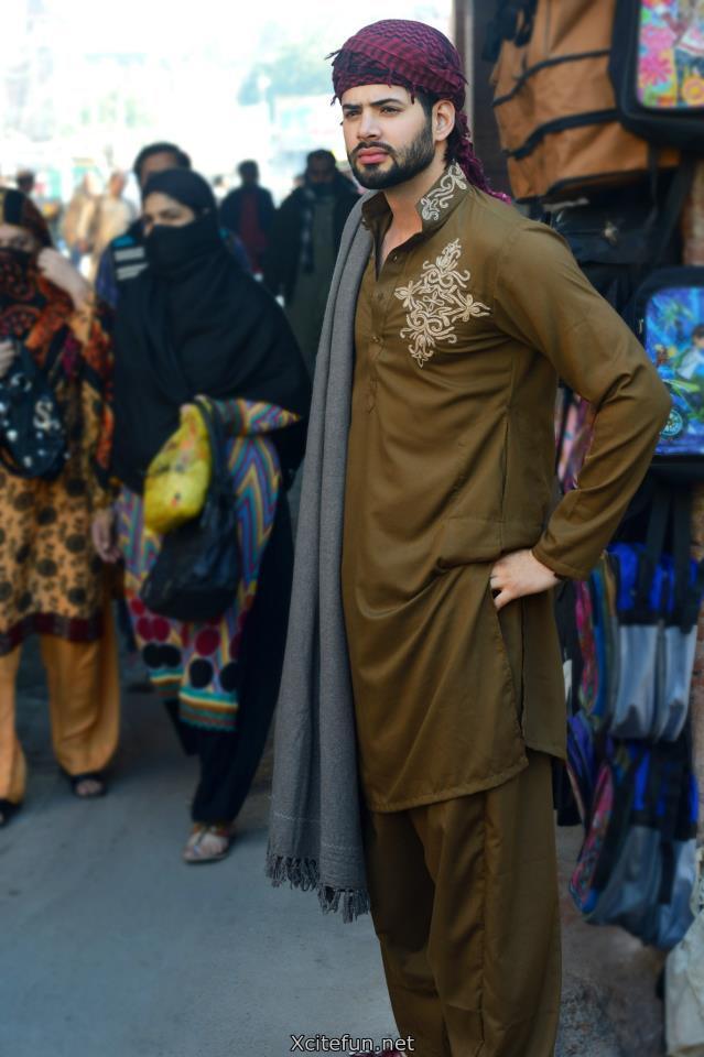 Winter Embroidered Style Salwar Kameez For Men