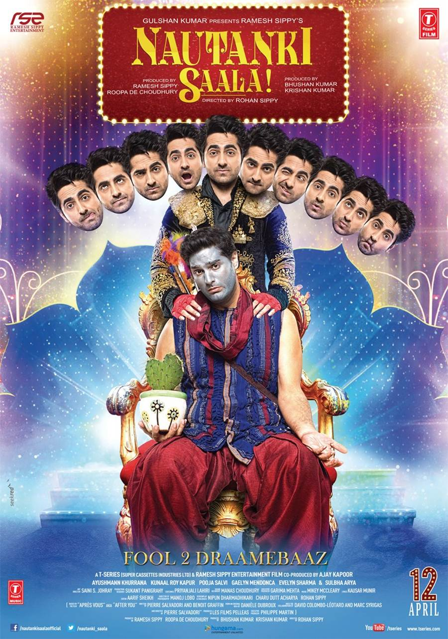 Nautanki Saal Movie Poster and Trailer