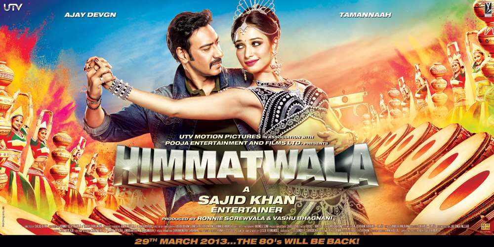 Himmatwala Movie Poster and Trailer ft Ajay Devgn