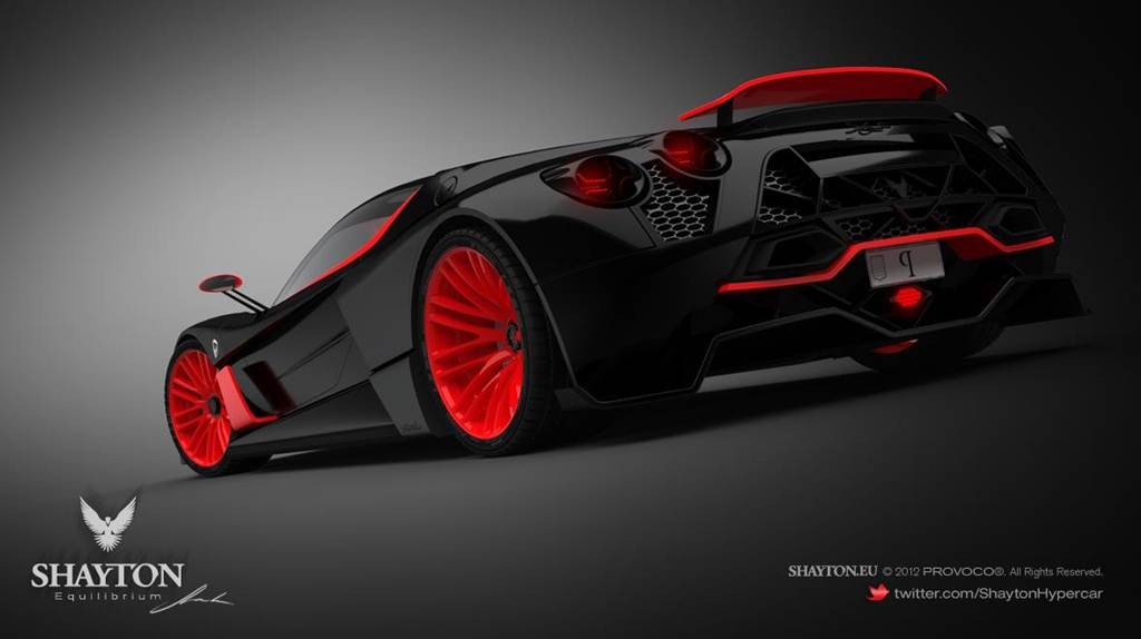 Shayton Equilibrium Hypercar Wallpapers