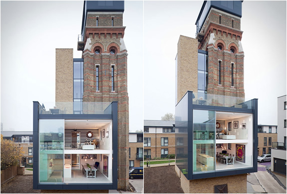 Water Tower of London  Luxury Home