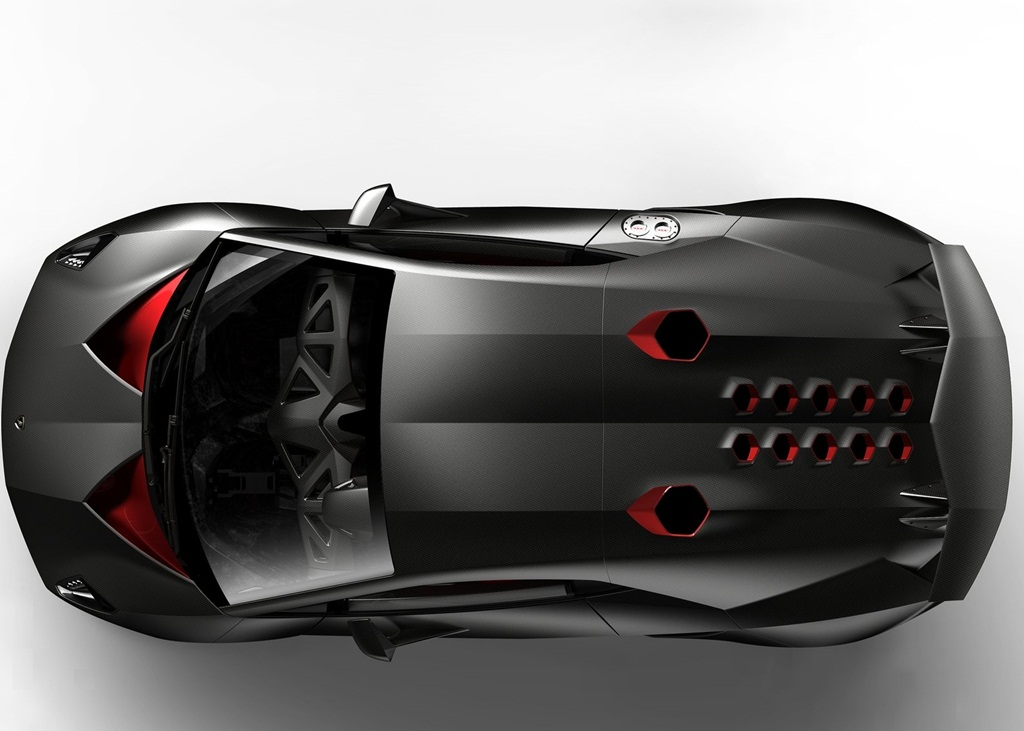 Lamborghini Sesto Elemento Concept Car Wallpapers
