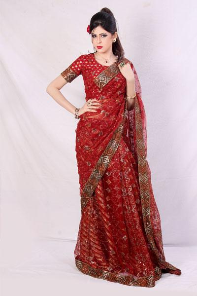 Casual Wear Banarasi Sari