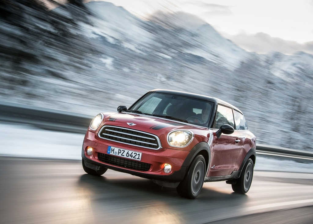 Mini Paceman ALL4 2014  Car Wallpapers