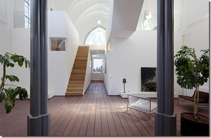 Church Turned Into Modern House