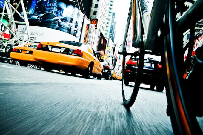 New York Under the Wheels