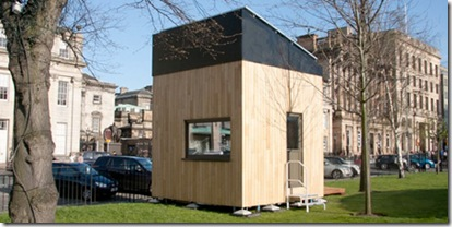 Eco Friendly Cube House