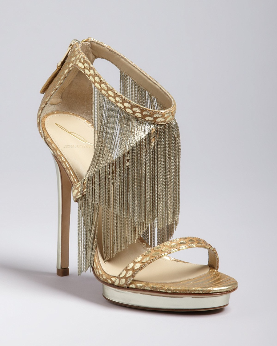 high heel golden sandals for girls. Black Bedroom Furniture Sets. Home Design Ideas
