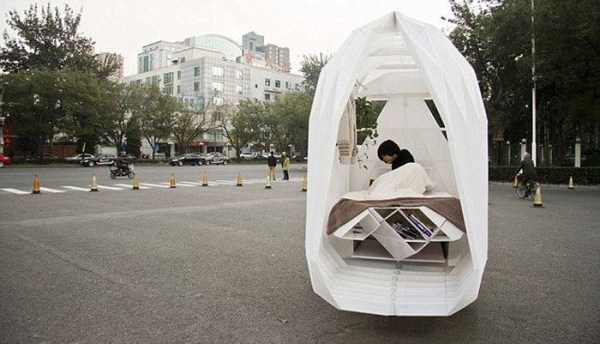 Tiny Bicycle House