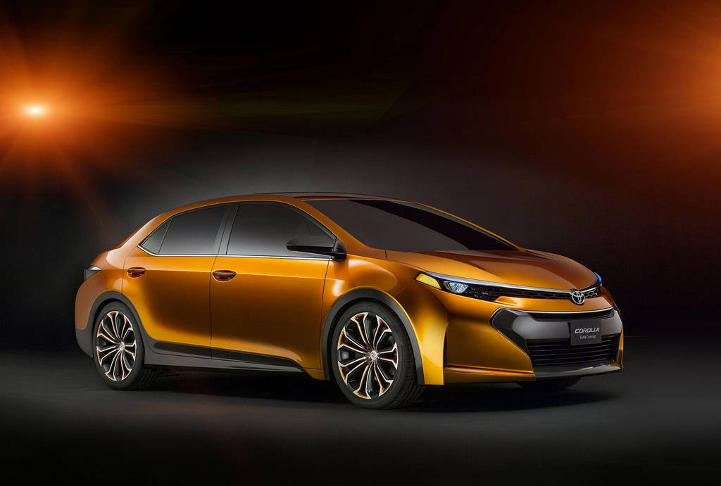 Toyota Corolla Concept 2013  Car Wallpapers