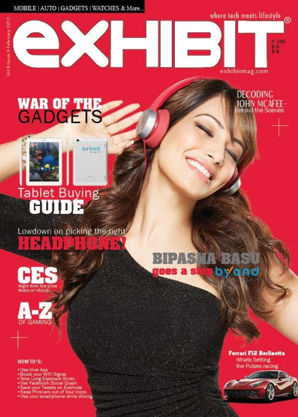 Bipasha Basu Exhibit Magazine