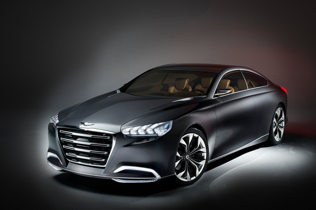 Hyundai HCD14 Genesis Concept 2013  Car Wallpapers