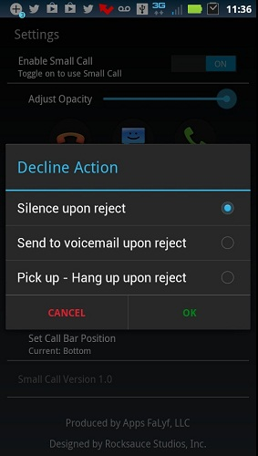 Small Call Application Review