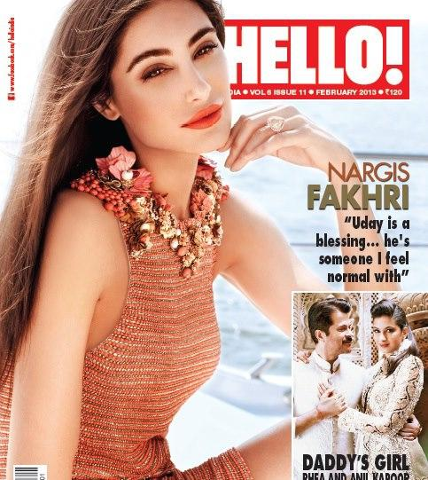 Nargis Fakhri HELLO Magazine
