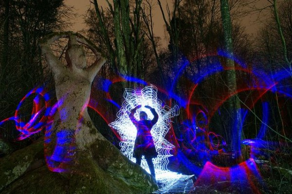 Extreme Light Painting
