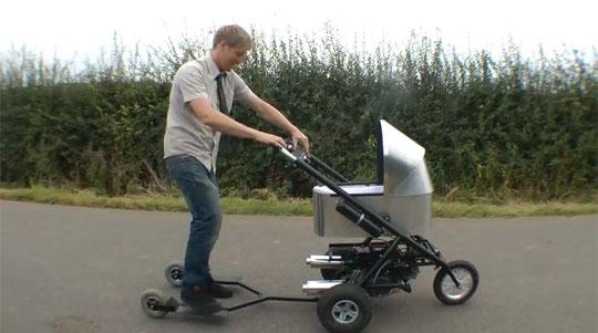 Worlds Fastest Baby Stroller