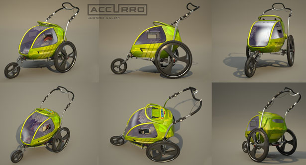 Accurro Baby Stroller