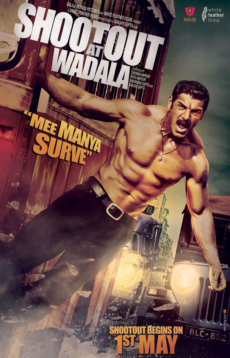 Shootout At Wadala Movie Posters and Official Trailer