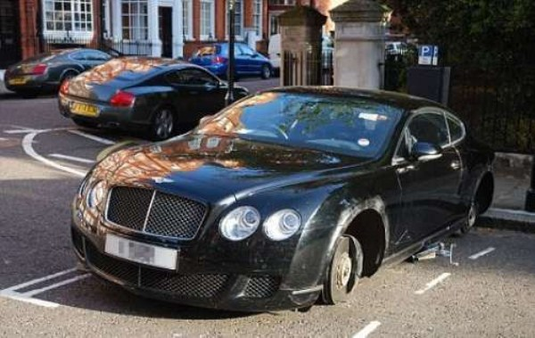 Expensive Cars Without Wheels