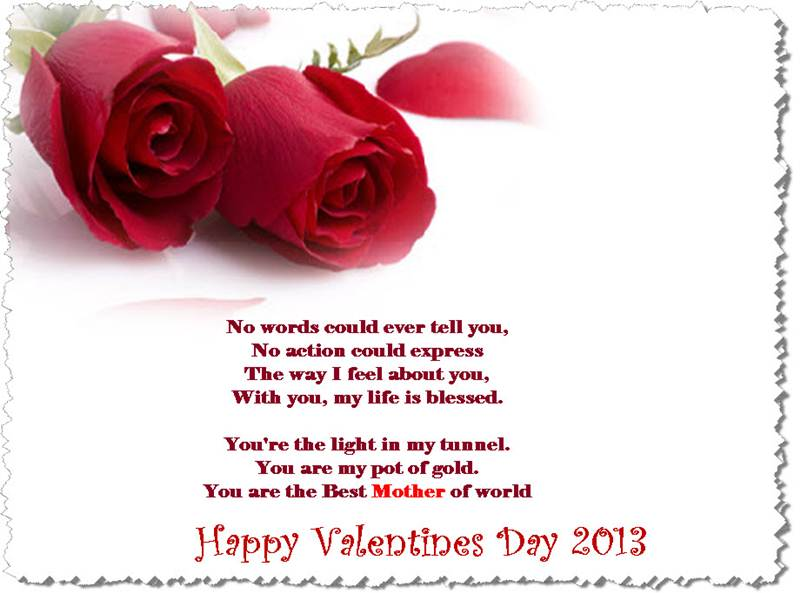 Valentines Day Greetings Cards Collection 2013