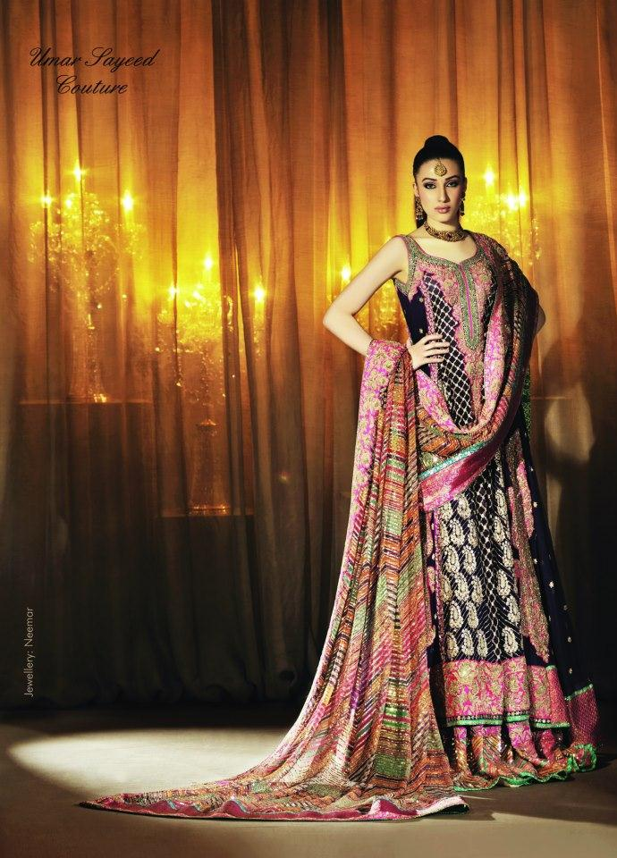 Bridal Wear Complete Collection By Umar Sayeed