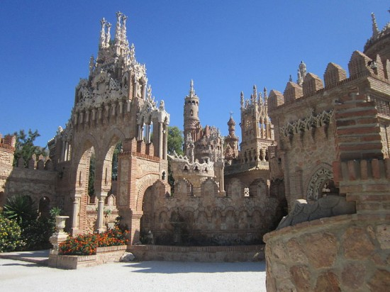 Colomares Fairy Tale Castle Spain Xcitefun Net