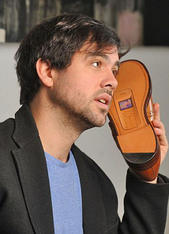 Shoe Phone By Sean Miles