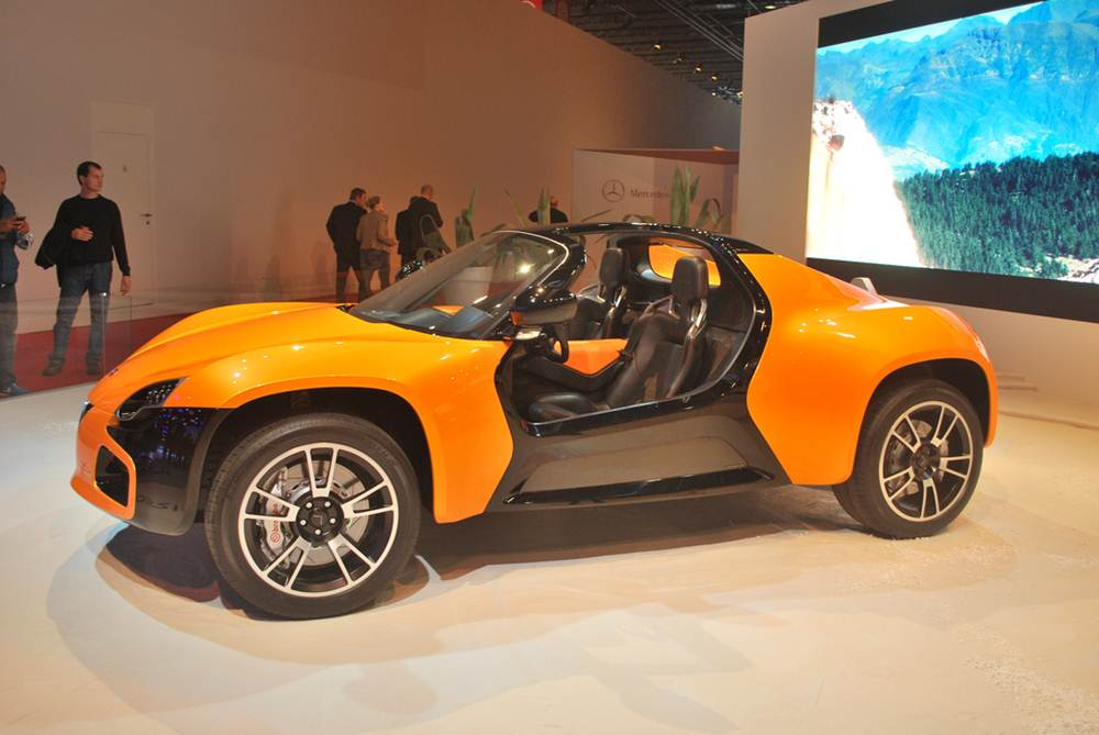 Venturi America Electric Sports Car 2013
