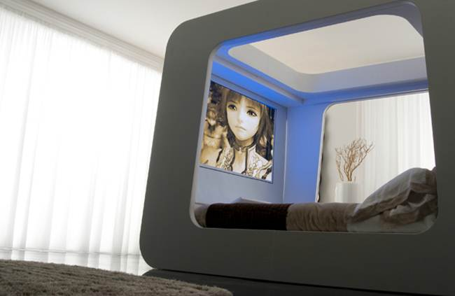 HiCan Multimedia Bed