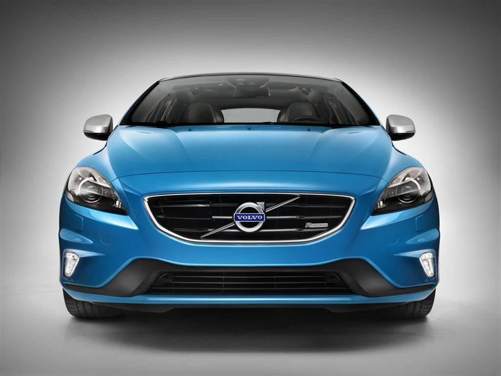 volvo v40 r design hd wallpapers. Black Bedroom Furniture Sets. Home Design Ideas