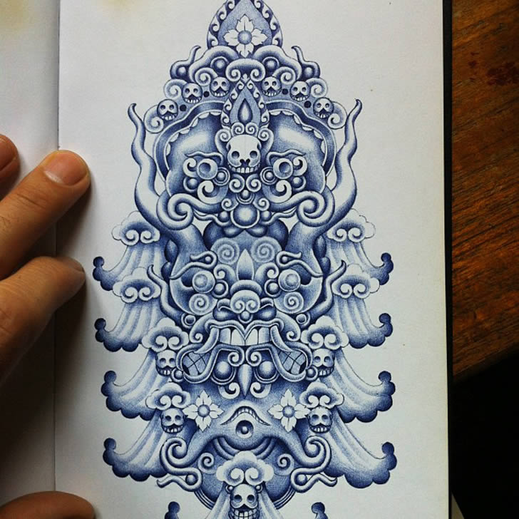 Creative Art By Blue Ink Xcitefun Net
