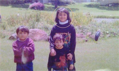 Parineeti Chopra Childhood Picture