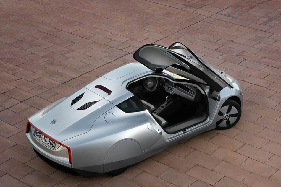 Worlds Most Fuel Efficient Car  Volkswagen XL1