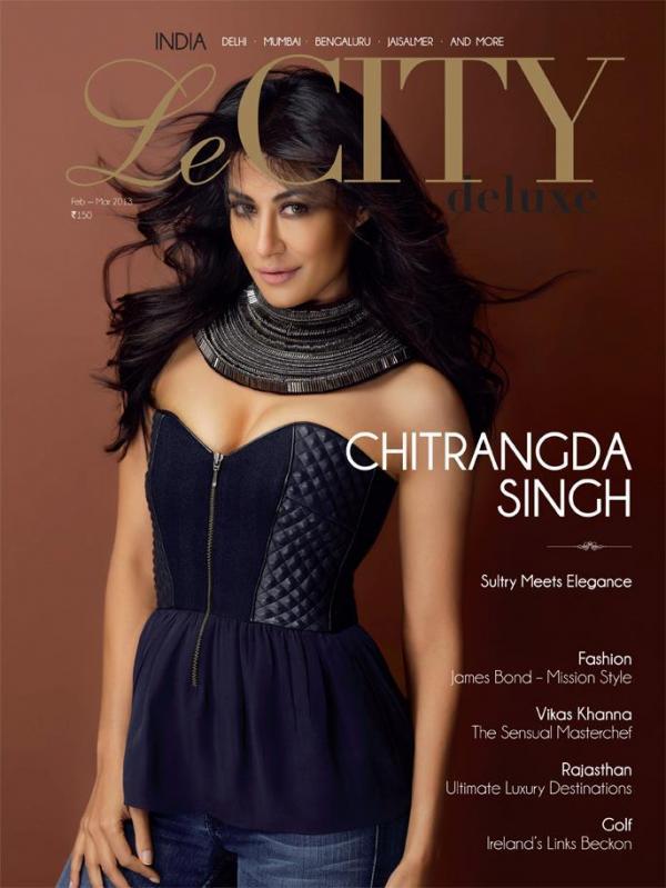Chitrangada Singh Le CITY Deluxe Magazine