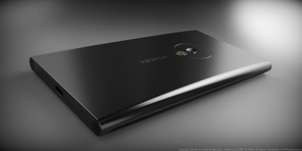 Nokia Lumia Next 999 Concept Phone